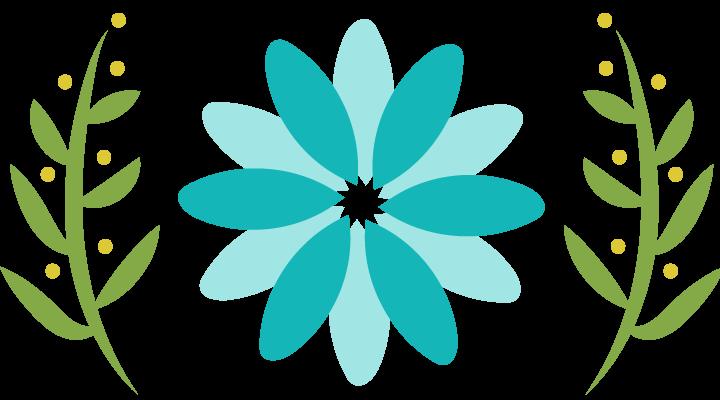 Image of Flower Blossom Harp Ensemble logo - harp ensemble, hire harp, hire harpist, hire harp ensemble